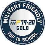 Military Friendly Top 10 School 2019-2020