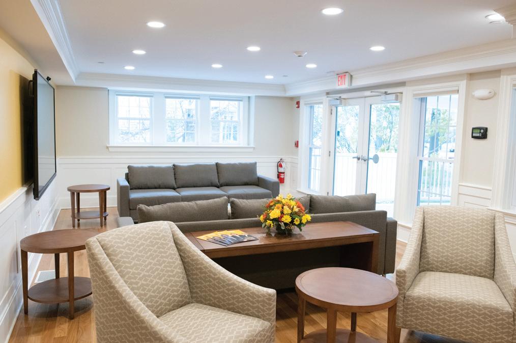 Women's Leadership Institute - Living Room (340 SQ. FT.) | $40,000