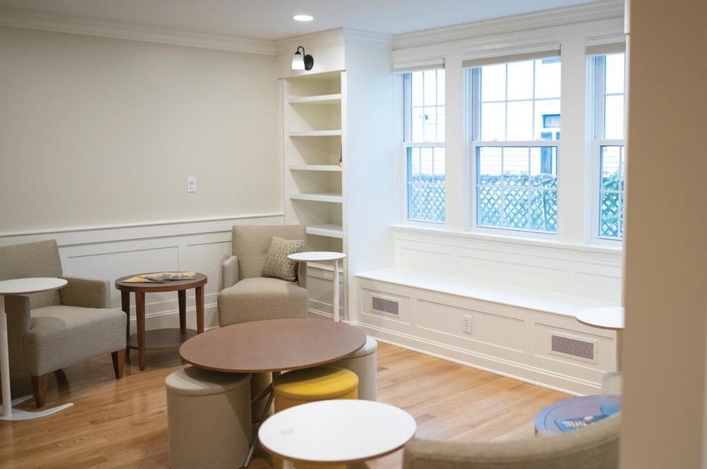 Women's Leadership Institute - Common Room (160 SQ. FT.) | $30,000