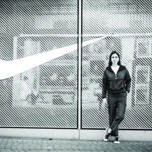 Maria Sanchez Gonzalez, Saint Rose alum, former women's basketball player, now a buyer for Nike in Paris