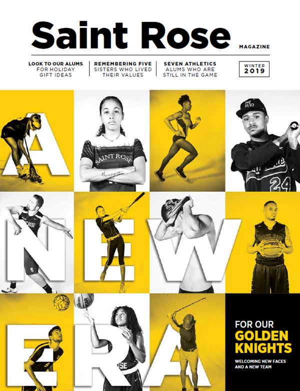 Winter 2019 Alumni Magazine Cover