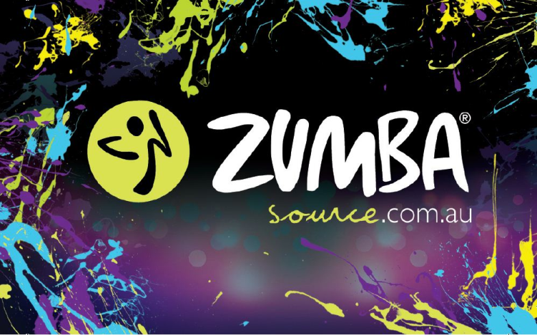Background Design Zumba Poster Background