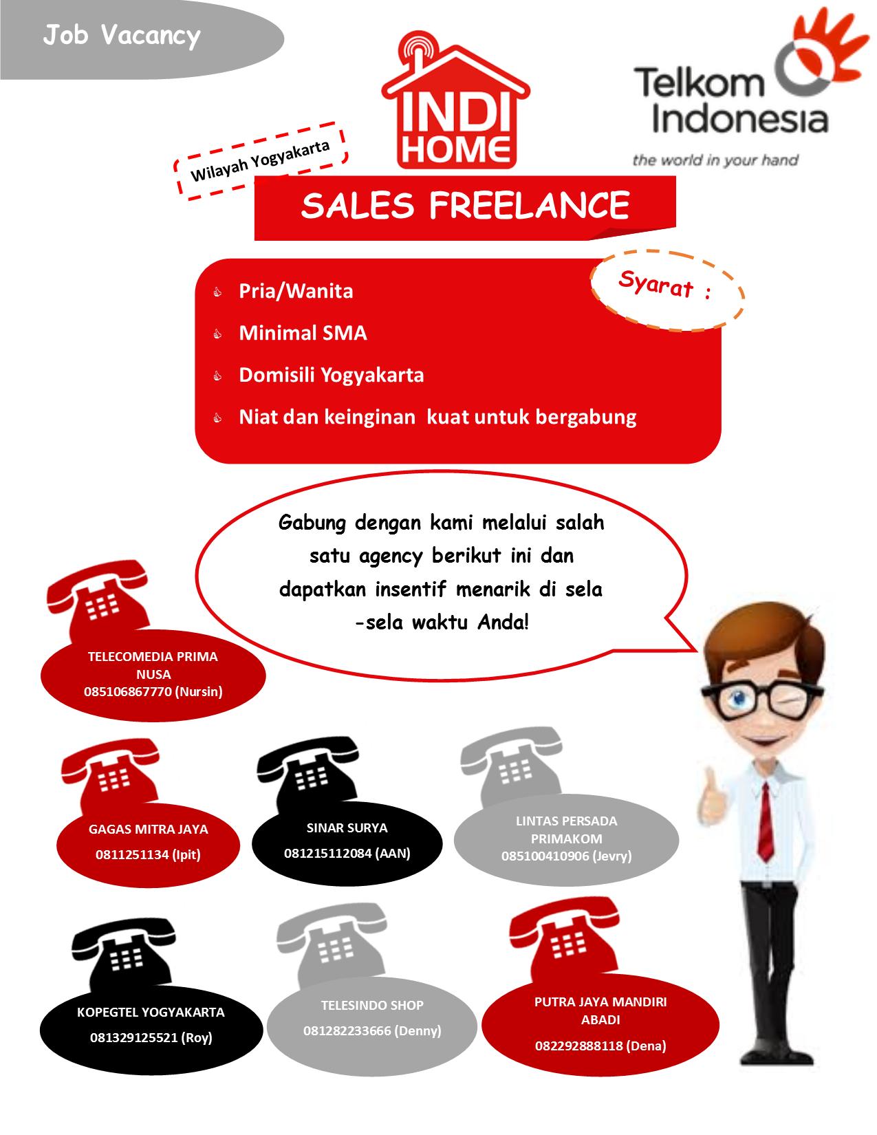 Indihome Sales Freelance Studentjob Indonesia