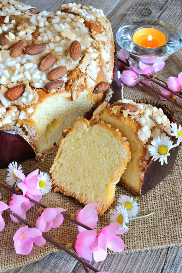 Italian Easter Cake Colomba Recipe