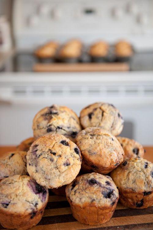 Light Breakfast Recipe Blueberry Maple Muffins 12 Tomatoes