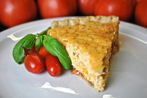 Simple Savory Recipe: Tomato Pie