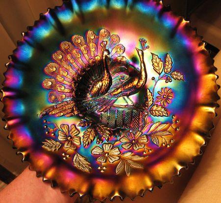 Peacocks bowl (Amy)