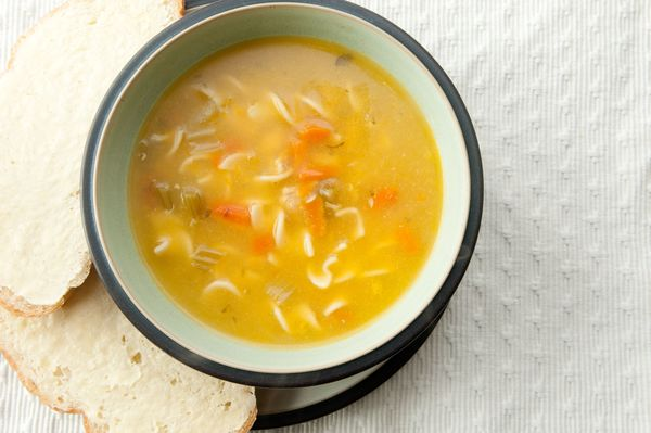 chicken noodle soup free recipe