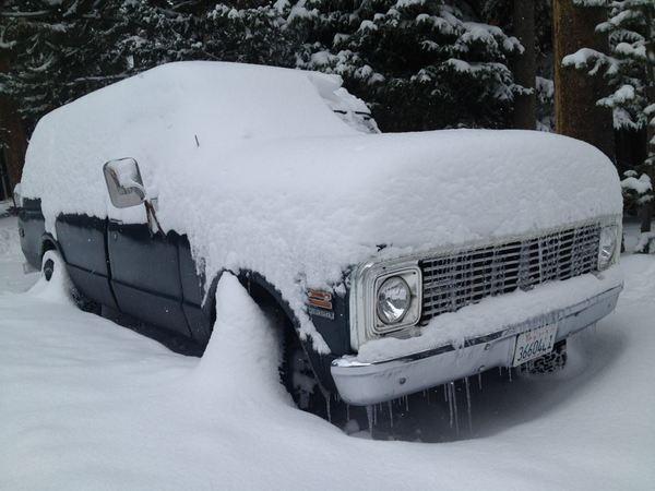 snow truck