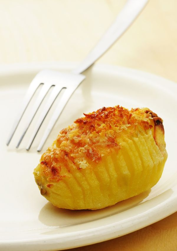 Hasselback potato