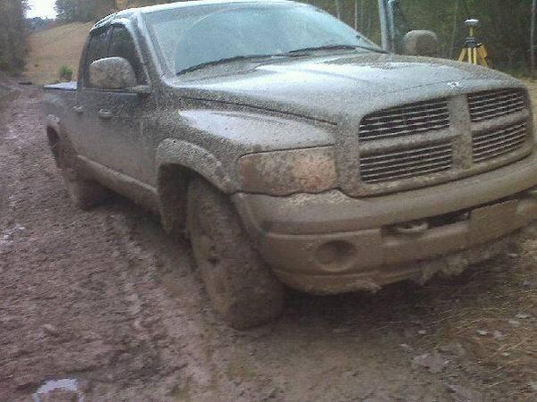 mudding truck