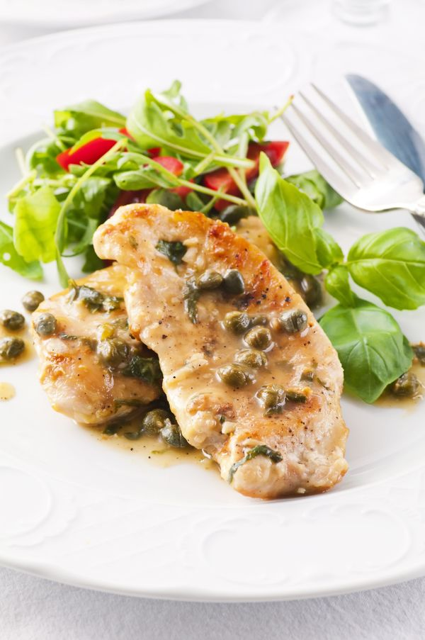YummyvHealthy Recipe: Light Chicken Piccata