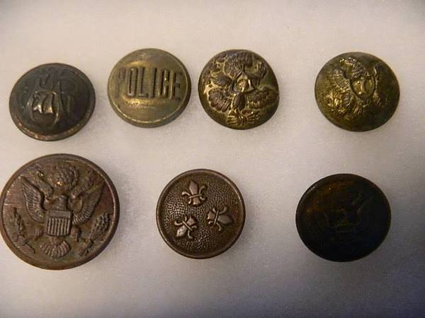 Check Out These Beauties - Antique And Vintage Buttons!