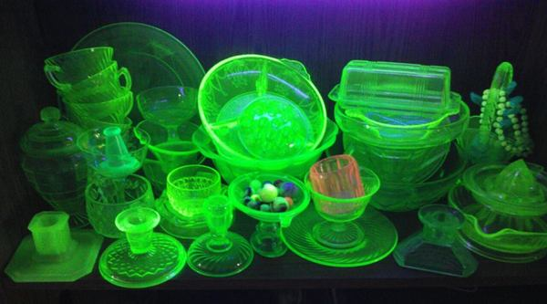 Antique Spotlight: If You Own Any Uranium/Vaseline Glass, Check This Out!