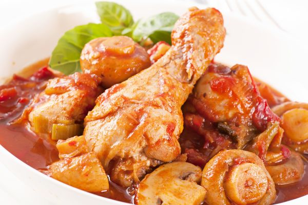 Tasty Poultry Recipe: Simple Chicken Cacciatore