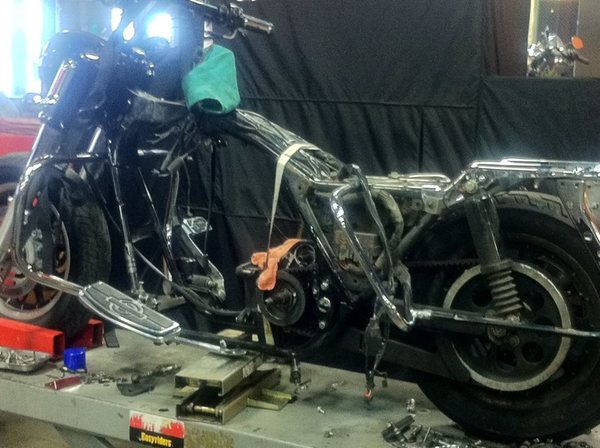motorcycle project
