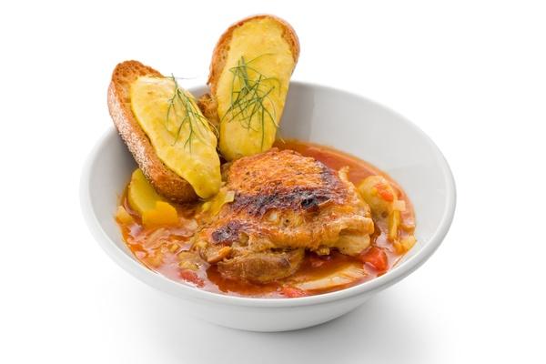 French Stew Recipe: Chicken Bouillabaisse