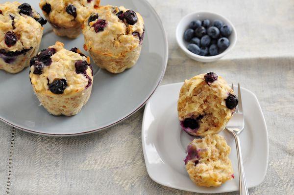 Breakfast Recipe: Blueberry Oatmeal Muffins