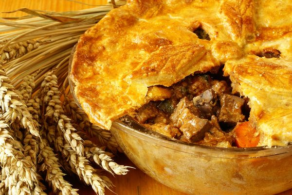 Irish Recipe: Steak and Guinness Pie