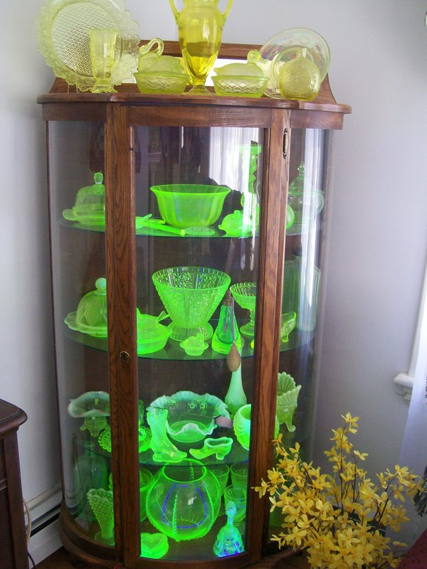 Antique Spotlight If You Own Any Uranium Vaseline Glass