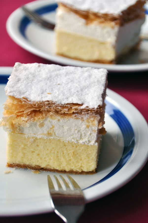 Vanilla Custard  Cream Cake Recipe: Kremna Rezina