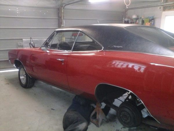 1968 charger project