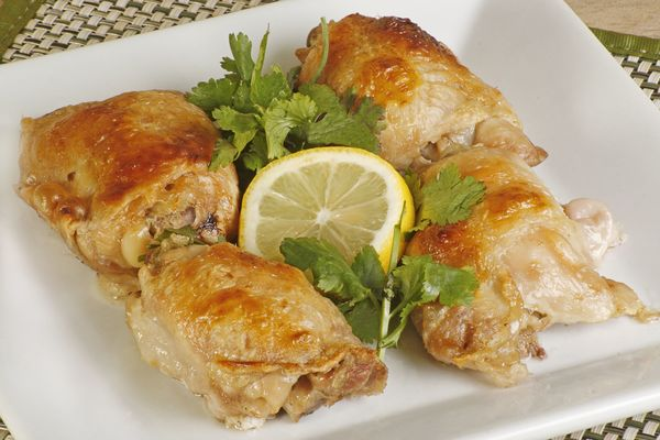 Chicken Recipe: Herb Roasted Thighs