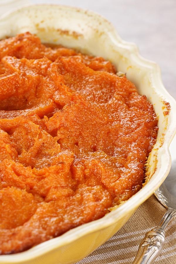 Bourbon-Infused Side Dish: Mashed Sweet Potatoes