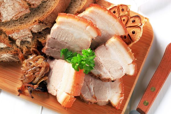 Decadent Dinner Recipe: Pressed Pork Belly