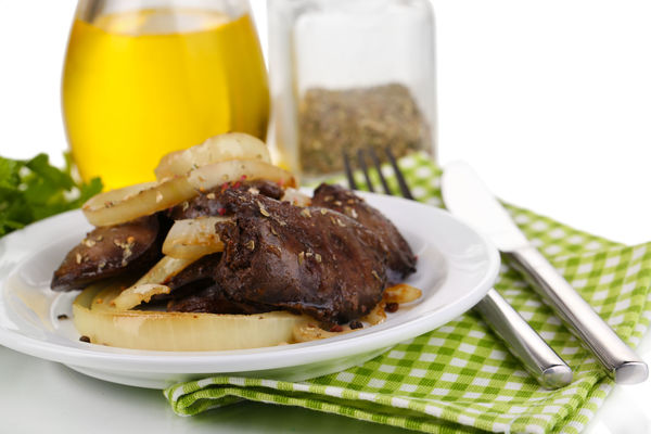 Hearty Chicken Recipe: Liver and Caramelized Onions