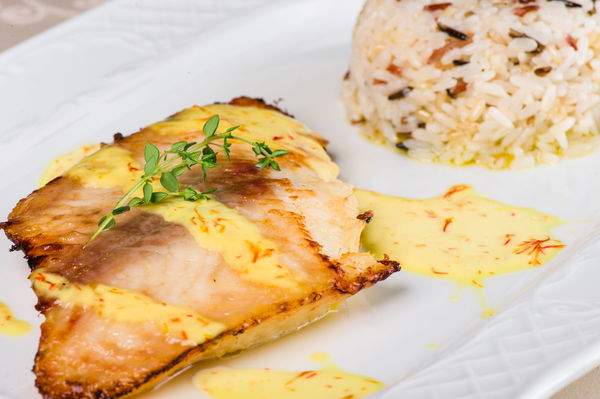 Simple Seafood Recipe: Grilled Halibut with Mustard Sauce