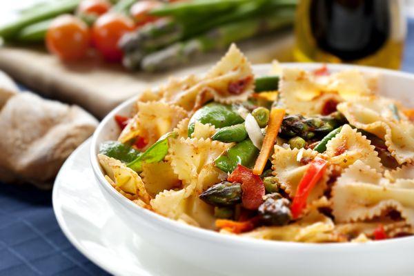 Vegetarian Recipe: Pasta Primavera