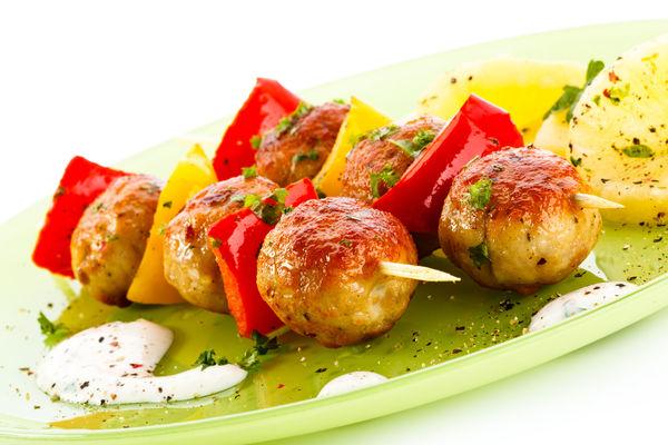 Kebab Recipe: Teriyaki Chicken Meatballs