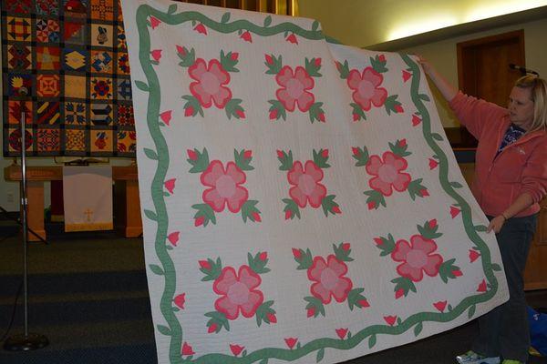 An Ohio Rose 60 Blocks Classy Rose Quilt Pattern