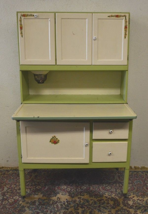 Antique Spotlight: Hoosier Cabinets - Everything You Need To Know About The Beautiful, Functional Hoosier
