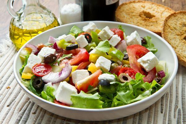 Simply Delicious Greek Salad