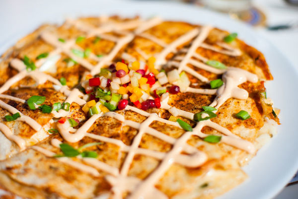 Maine Inspired Lobster Quesadilla With Pico De Gallo 12 Tomatoes
