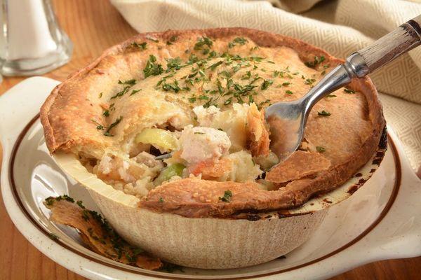 Comfort Food Classic: Chicken Pot Pie