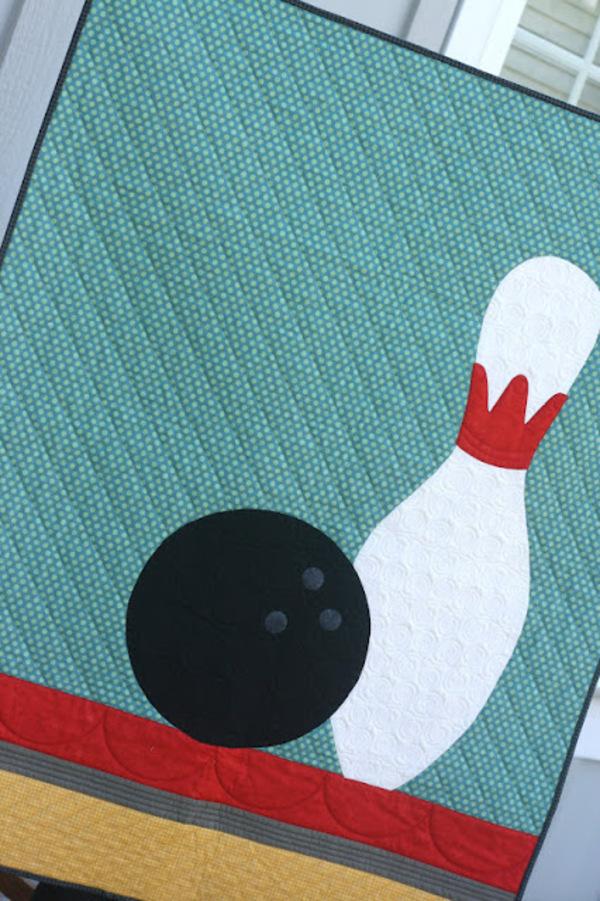 5 Sports Quilt Patterns 24 Blocks