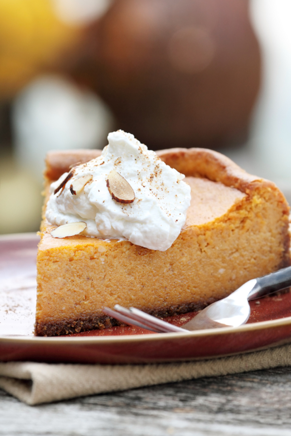 Decadent Dessert Recipe: Pumpkin Cheesecake w/ Graham Cracker Crust