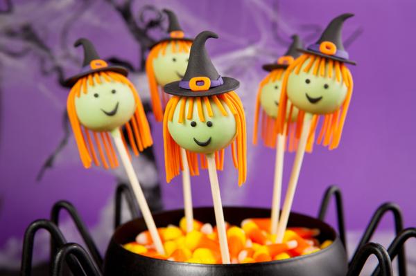 Halloween Dessert Recipe Spooky Cake Pop Witches 12