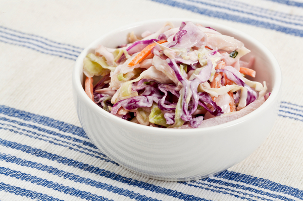 Low-Fat Side Dish Recipe: Fresh & Light Coleslaw