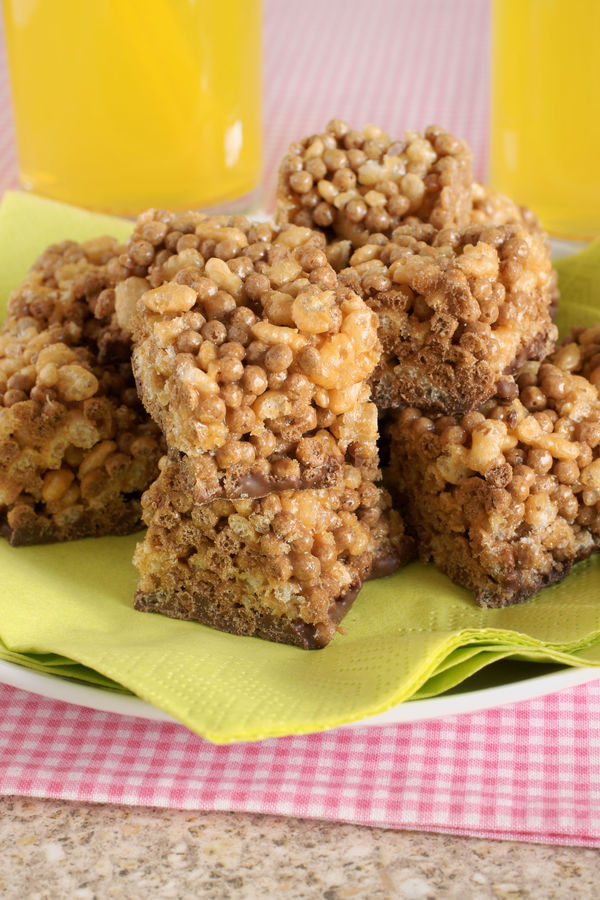 Decadent Dessert: Chocolate Peanut Butter & Marshmallow Rice Krispie Treats