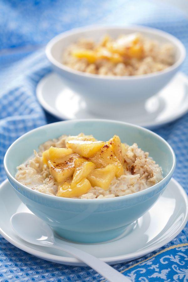 Breakfast Recipe: Spiced Apple Cinnamon Oatmeal
