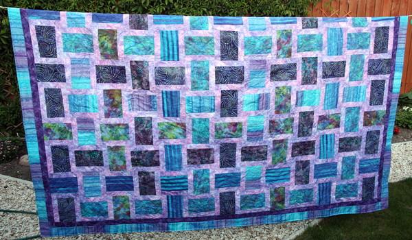 Beautiful Batik Quilts!