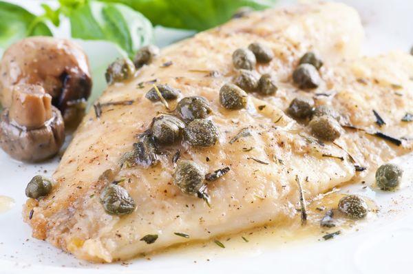 Fish Recipe: Pan-Seared Halibut with Lemon Sauce
