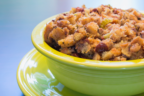 Thanksgiving Recipe: Sausage and Raisin Herb Stuffing