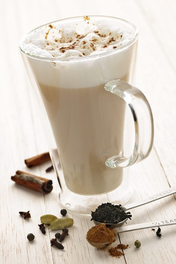 Comforting Drink Recipe: Spiced Chai Tea Latte