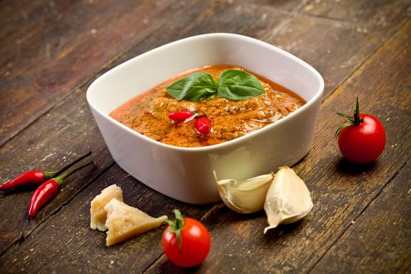 Italian Recipe: Sicilian Red Pesto Sauce