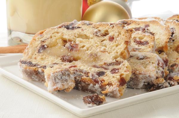 German Recipe: Christmas Stollen Sweet Bread